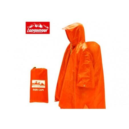 Wodoodporne poncho uniwersalne Longsinger PU3000, płaszcz przeciwdeszczowy