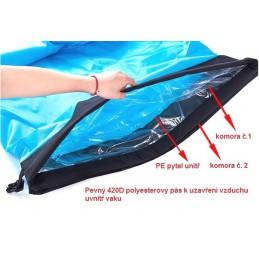 Nafukovací outdoor vak, lazy beach bag, přenosná postel
