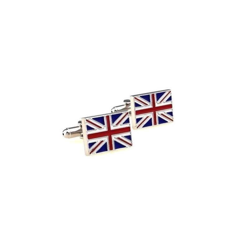 Manžetové gombíky vlajka Británia