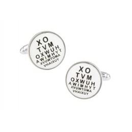 Manžetové gombíky očný lekár, očar, optometrista
