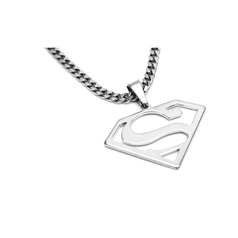 Prívesok Superman oceľový