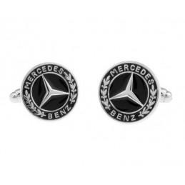 Manžetové knoflíčky s motivem Mercedes Benz