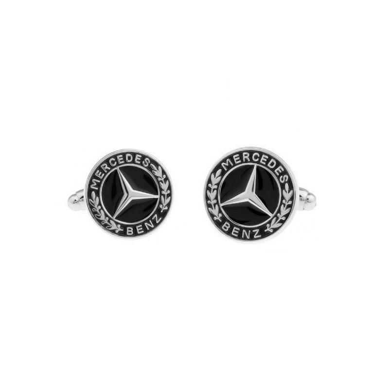 Manžetové gombíky s motívom Mercedes Benz