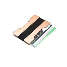 RFID mini peňaženka, hliníková, obal, puzdro na karty