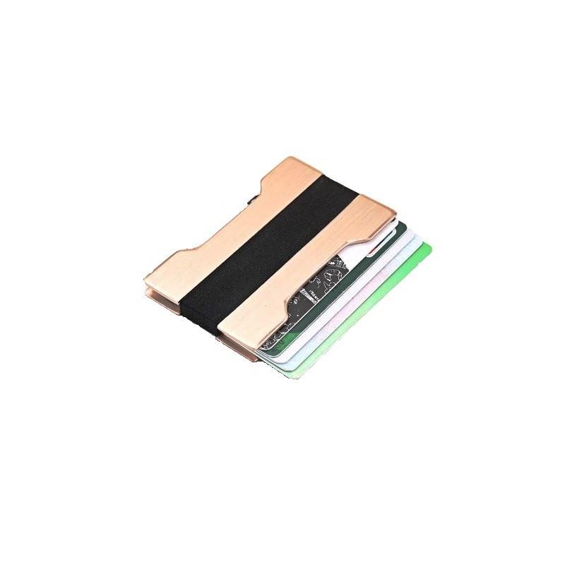 RFID mini peněženka, hliníková, obal, pouzdro na karty