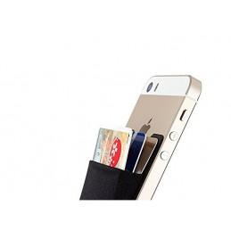 Pénztárca telefonra ragasztható, tok bankkártyákra, zseb