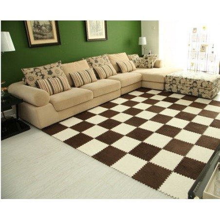 Barevný skládací puzzle koberec