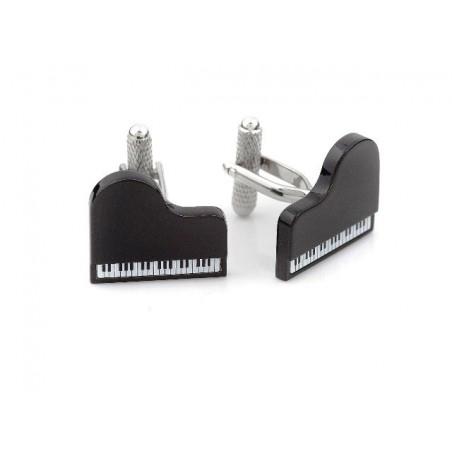 Manžetové knoflíčky klavír
