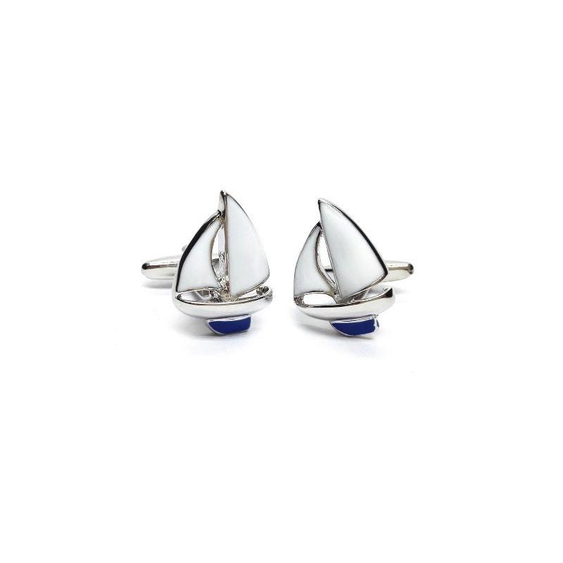 Manžetové gombíky plachetnica, plachtenie, yachting