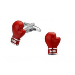 Manžetové gombíky boxerská rukavica, pre boxera