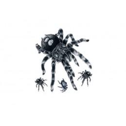 Tatuaj fals, tatuaj temporar pe coapse, gambe sau spate cu design de tarantulă, păianjen