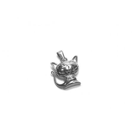 Přívěsek z chirurgické oceli kočka, kočička