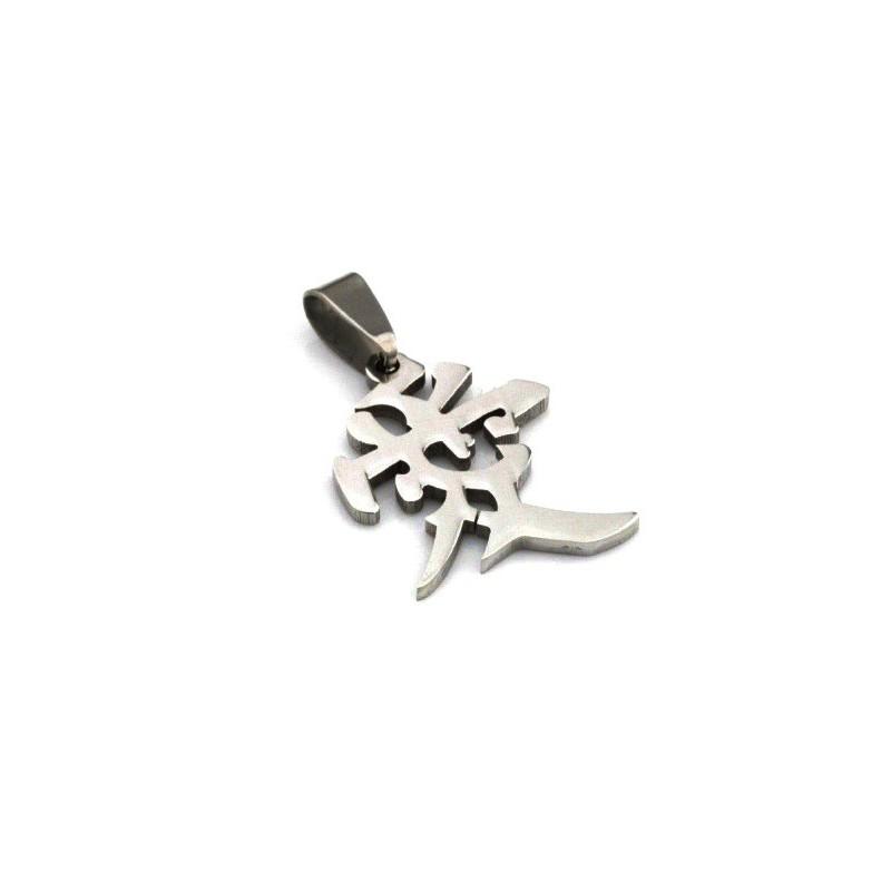 Přívěsek ocelový s čínským symbolem láska, milenci