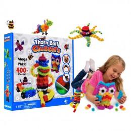 Stavebnica detská Thorn Ball Clusters Mega Pack balenie 400ks