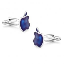Mandzsetta gomb Apple mintával
