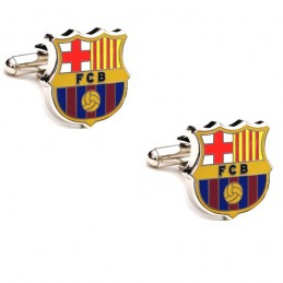 Manžetové knoflíčky pro fanoušky FC Barcelona
