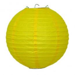 Dekoratívny lampión žltý