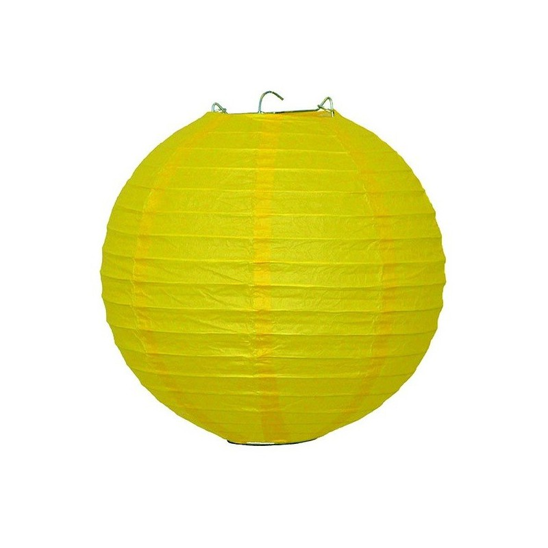 Lampion dekorativní žlutý 22, 30, 40cm