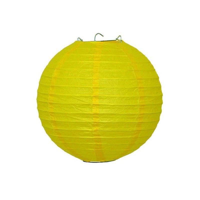 Dekoracyjny lampion żółty