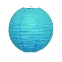 Dekoratívny lampión modrý