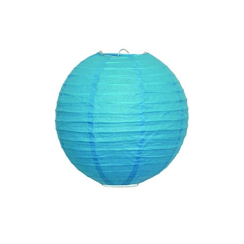 Dekorativ kék lámpa