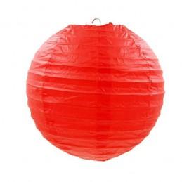 Czerwony lampion okrągły