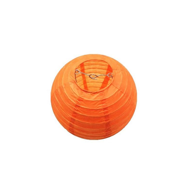 Závěsný lampion oranžový