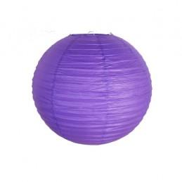 Lampion dekoracyjny fioletowy