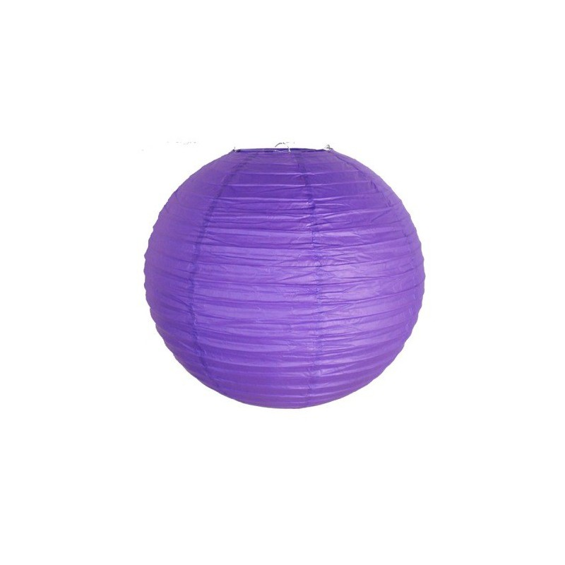 Lampion dekorativní fialový