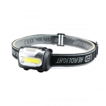 Čelovka, čelová svítilna, Headlight COB LED 3W