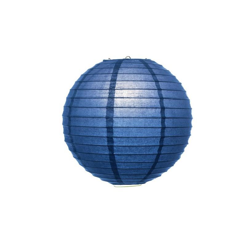 Lampion tmavě modrý