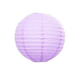 Lampión party, okrúhly, papierový svadobný svetlofialový 30, 40 cm