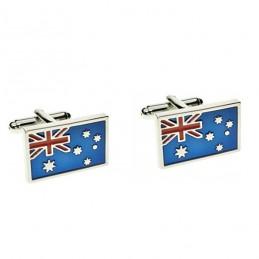 Spinki do mankietów dla Australijczyków, uwaga kangury i koala