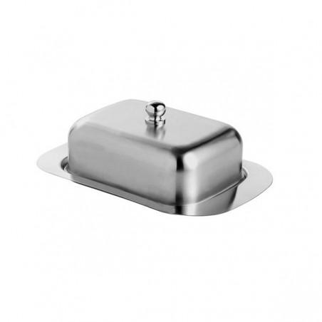 Máslenka, dóza na máslo nerezová ocel