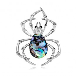 Brož opálové pavúk, pavúčik z mušle