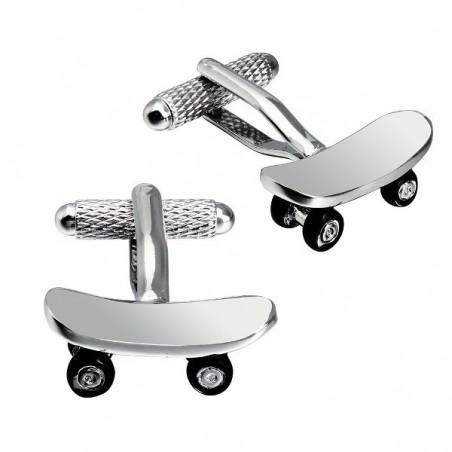 Manžetové knoflíčky skate, skateboard, pro skejťáka elegána