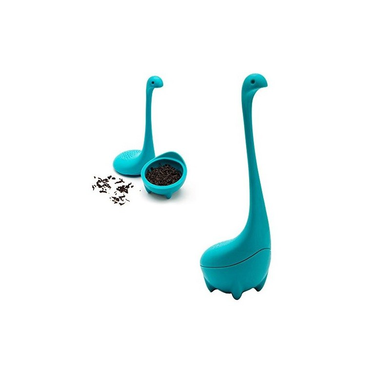 Čajové sítko silikonové Nessie, příšerka Lochnesska
