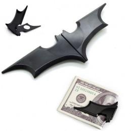 Spona na bankovky čierna, magnetická Batman