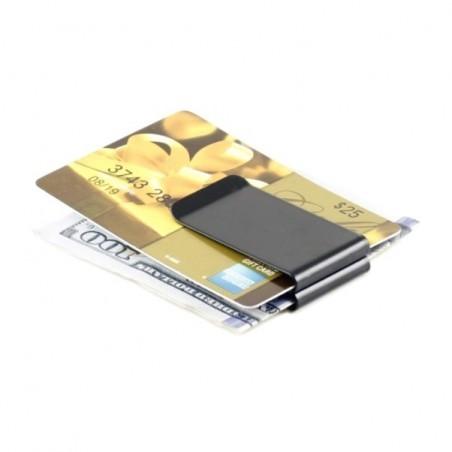 Klip na peníze a karty oboustranný, double