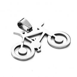 Medál kerékpár, bike orvosi acélból