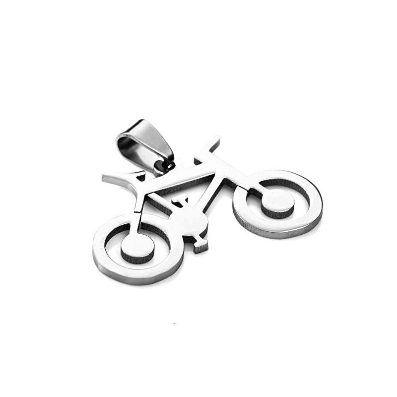 Prívesok bicykel bike z chirurgickej ocele