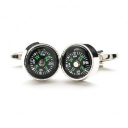 Kompass Manschettenknöpfe