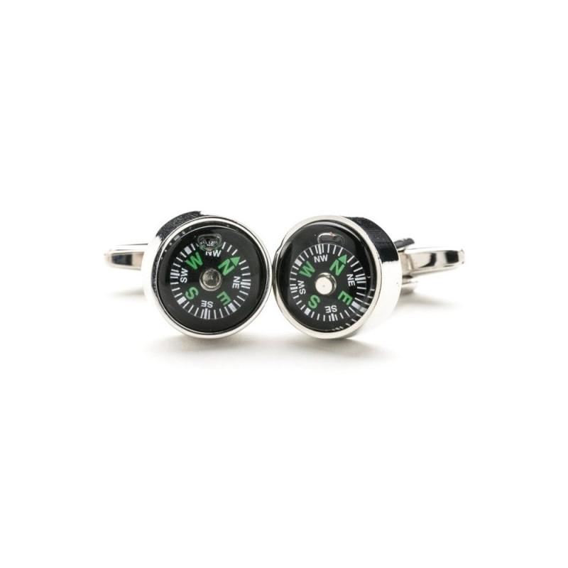 Manžetové gombíky kompas