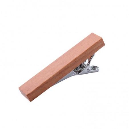 Spona na kravatu dřevěná