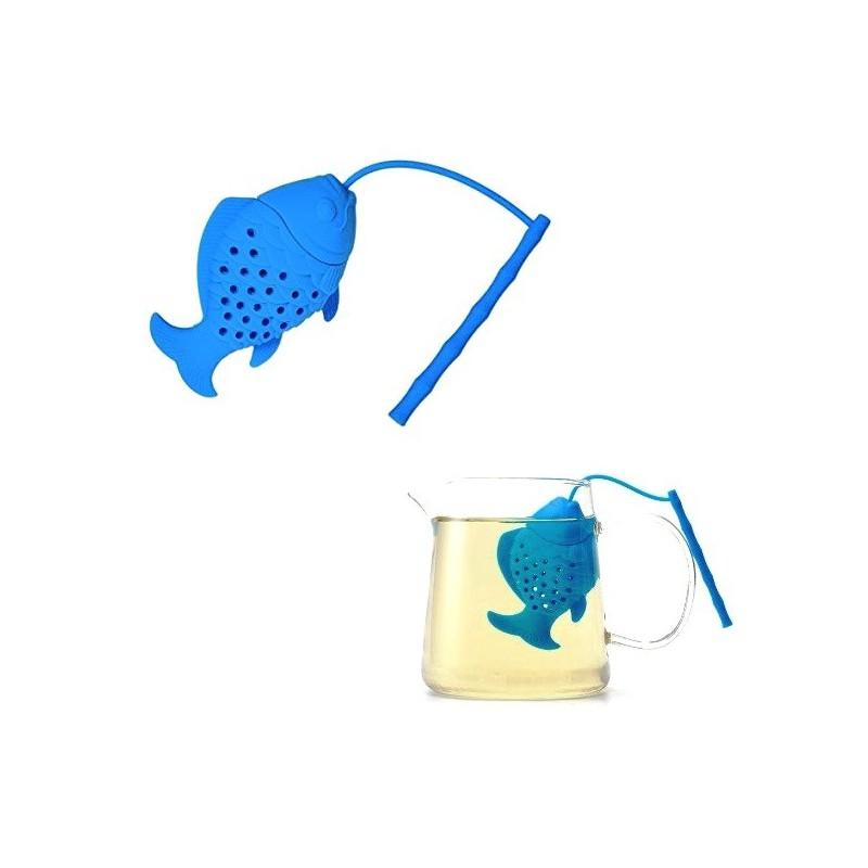 Čajové sítko silikonové ryba, rybička