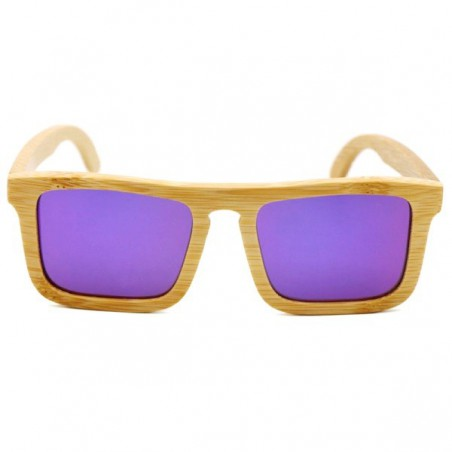 Bambusové sluneční brýle Nerd
