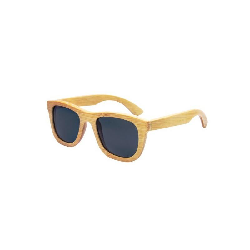Dřevěné sluneční brýle Hipster Klasik s barevnými skly