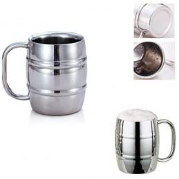 Termoizolačné, dvojstenný nerezový pohár na pivo 350ml