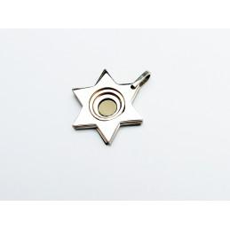 Přívěsek hvězdy z chirurgické oceli