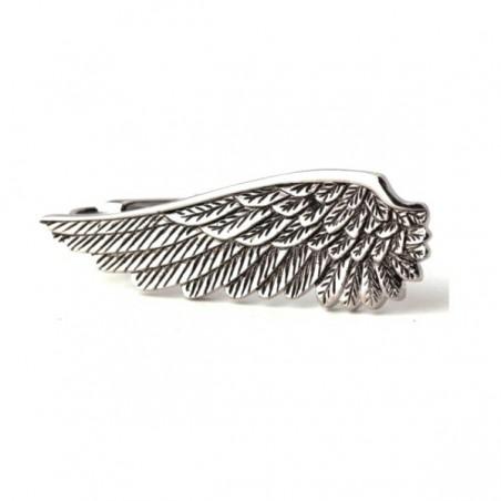 Spona na kravatu andělské křídlo, peruť